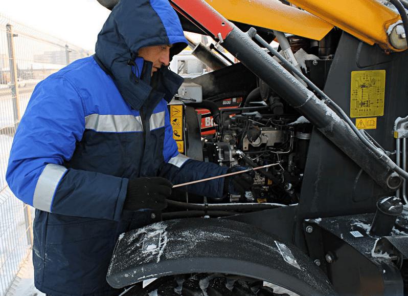 Как эксплуатировать специальную технику зимой?
